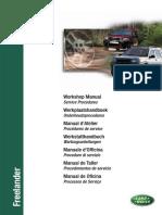 Freelander 1 MY01 on - Workshop Manual - Service Procedures (LRL0350ENG 4th Edition)