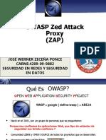 Presentacion Owasp Zap y Herramientas Conocidas