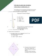 Solución del Examen del Teorema de Pitágoras y Semejanza-2ºC.doc