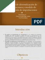 Modelo de Sustitucion de Importaciones y Diversificacion de Exportaciones CORREGIDO