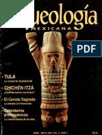 7 Tula Chichén Itzá el Cenote Sagrado Calendarios Prehispánicos+
