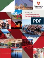 Murdoch University Auslandssemester Study Abroad Brochure