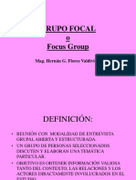 9. Grupo Focal