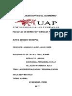 Descentralizacion y Regionalizacion Municipal
