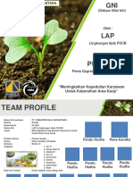 Young Plant Sprouting PowerPoint Templates Standard