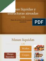 Masas Liquidas y Estructuras Aireadas