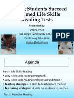 Helping Students Succeed on Timed Life Skills Reading Tests