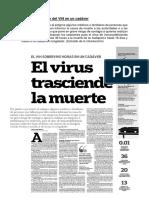Transmisión Del VIH en Un Cadáver