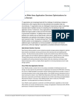 Cisco Wide Area Application Services Optimizations  for  Data Domain