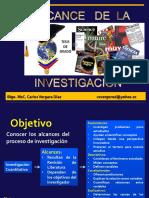 Clase 6 Alcance de La Investigacion
