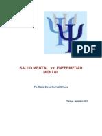 Salud Mental vs Enfermedad Mental