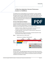 Cisco Wide Area Application Services Performance Optimization for SolidWorks