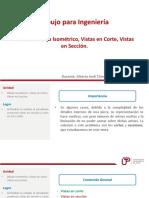 U3_Dimensionamiento, Capas, Corte, Sección e Isometría