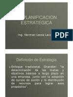 Seccion 1,2,3 Planificacion