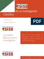 Conceptos Basicas de La Investigacion - Sise