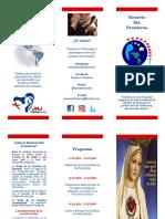 Folleto Rosario Sin Fronteras - FINAL