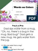 L3D4-Sight Words on Colors