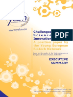 Challenges of Life Science Based Innovation-Executive Summary