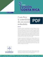 Costa Rica- La Sostenibilidad Fiscal de Una Economía Endeudada - Programa Visión