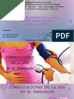 41 Complicaciones de HTA. Shock Hipovolemico y Septico