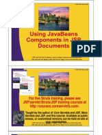 Using JavaBeans