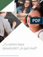 Tu Centro Hace Prevención_A Qué Nivel