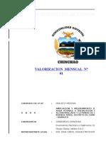 VALORIZACIÓN N°01 - JUNIO 2017 - A PRESENTAR modificado