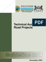 Botswana_Guideline 7 - Technical Auditing of Road Projects (2001).pdf