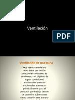 Ventilación en Mineria Subterranea