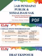 PH de ISAK 34 Dan Sosialisasi PSAK 73