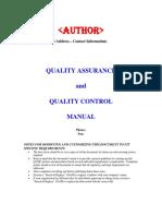 Cas 050624 Qa Qc Manual