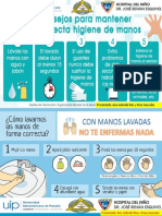 Banner de Lavado de Mano Practica Profesional 2018