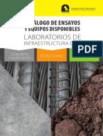 Catalogo Infraestructura Civil