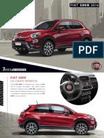 Catalogo Fiat 500x