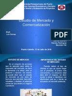 Estudio de Mercado y Comercializacion