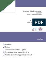Lecture3 Transformasi Laplace