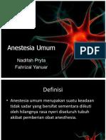 CSS Anestesia Umum