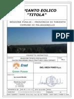 progetto eolico Titola