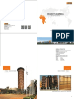 2018 Projects in Africa
