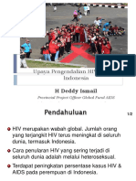 Upaya Pengendalian HIV AIDS Di Indonesia