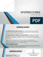 Ingenieria de Transito - 6TA SESION - Intersecciones