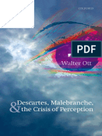 Ott W Descartes Malebranche & the Crisis of Perception 17