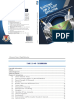 Ultrasonic Time of Flight Diffraction 1st Edition - Sample