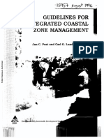 Guidelines for Integrated Coastal Zone Management