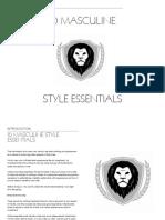 10 Masculine Style Essentials Book.pdf