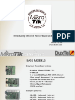 Introducing Mikrotik