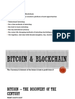 Understanding Bitcoin & Blockchain