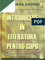 Mariana Andrei - Introducere in Literatura Pentru Copii