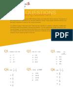 MathQuiz PDF 2