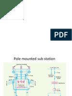 Pole Mounted Sub Station